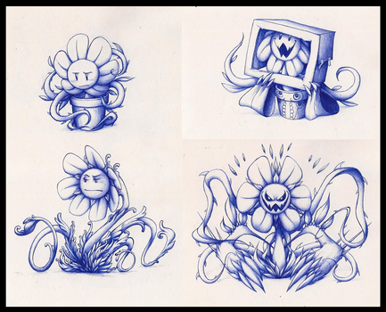 That's Flowey for you by TFresistance