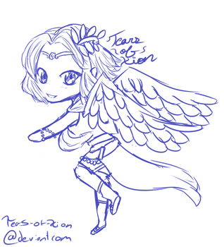 A Lil' Lydia Sketch by Tears-of-Xion