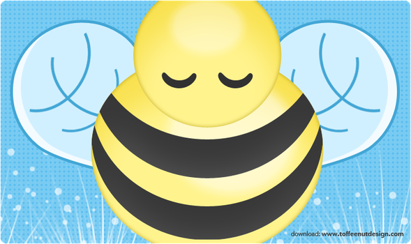 Wall: Goodnight Bee by ToffeeNut