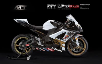 GSXR1000 MT RACING CUSTOMS by CaponeDesign
