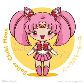 Sailor Chibi Moon - Vector Chibi by yumkeks
