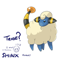 Trade Mareep For Shinx by Umewari