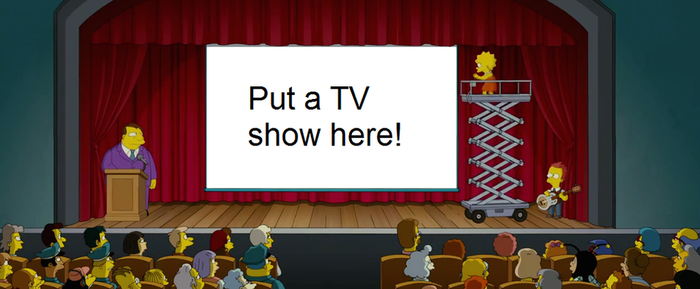 Lisa Simpson want to save a blank meme by Mroyer782