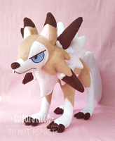 Pokemon: Lycanroc Midday by sugarstitch