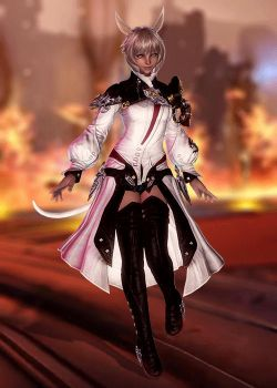 Y'shtola Rhul - Scion Healer's Robe by Sticklove
