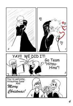 Bleach:  A Mistletoe Gift  pg 4 by Dwellin