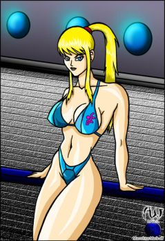 Less Than Zero Suit Samus by MarvelousMark