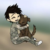 A Boy and His Dog by DalekWithAKeyblade