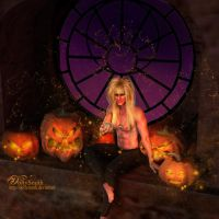 Jareth on halloween by Dollysmith