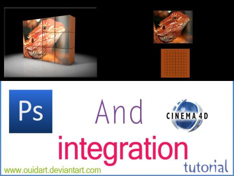 C4D and PS integration by ouidart