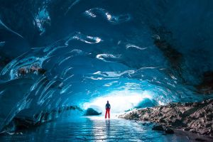 alone under the glacier by JaclynTanemura