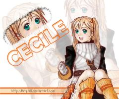 Suikoden III : Cecile by blitzball