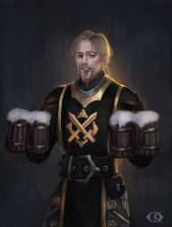 Some beer? by IcedWingsArt