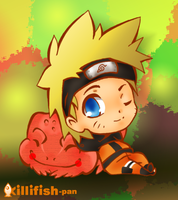 NARUTO - Shippuden Naruto by killifish-pan