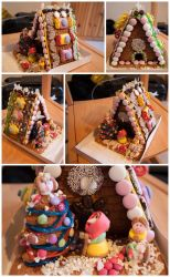 Gingerbread house by CookiemagiK