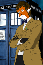 Anthro Who (Doctor Who fanart) by jacobc62