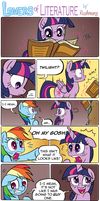 Lovers of Literature by RedApropos