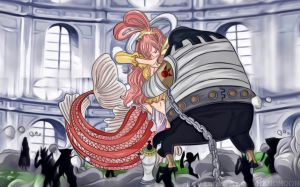 One Piece 907 Charlos Want Shirahoshi Hime Colors  by Amanomoon