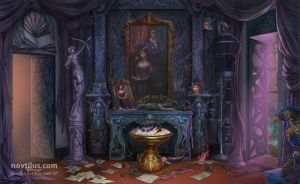Entrance Hall, hidden object game/hopa game by novtilus