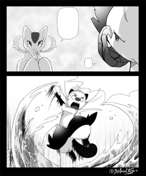Black on White - Comic Test by TamarinFrog