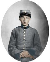Pvt. Edwin Francis Jemison Colorized by OldHank