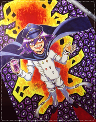Ouma stands at the gates of hell by Pirra