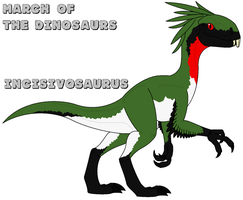 March of the Dinosaurs - day 22 by Absol989