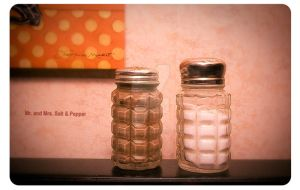Mr and Mrs Salt and Pepper by SSPhotographyinc