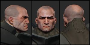 The Ram concept face by mojette