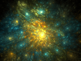Fractal Galaxy-stock by FractalAngel-Stock