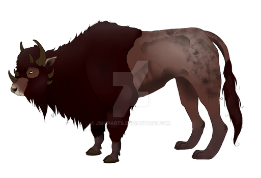 Bovidae Panthera Design by JShipArts