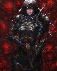 Diablo III Fan Art Contest by silviacaballero