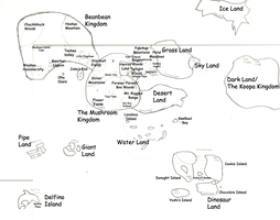 Mappe of the Mushroom World by ToddM