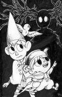 Over the Garden Wall by MalimarTheMage