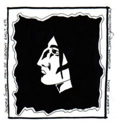 Snape: man of angst, etc... by lizbee