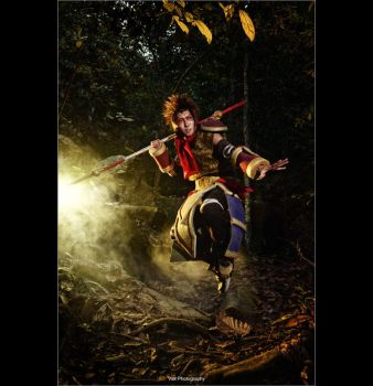 League of Legends - Wukong by vaxzone
