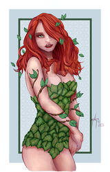 Poison Ivy (Coloured) by sojourney