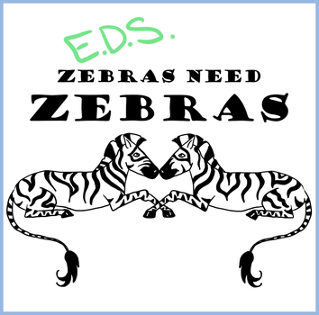 Zebras need Zebras Logo by Ogrefairy