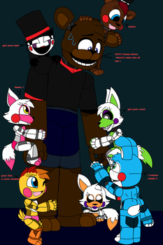 The Babysitter pt.10 ((Toddlers)) by FreddyFazartis215