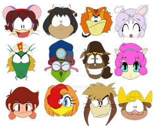 Partner Icons by BLADEDGE