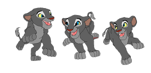 The Trio - Lion Cub Base by AnarsAdoptionAgency