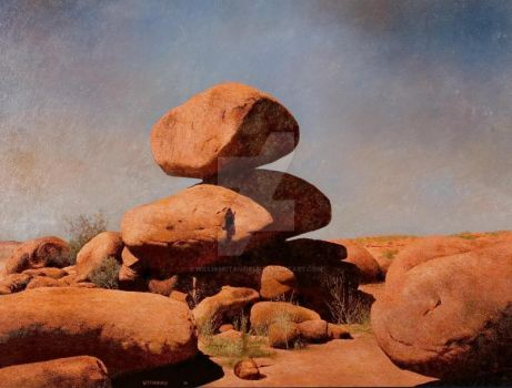 Devils Marbles by williamstanfield