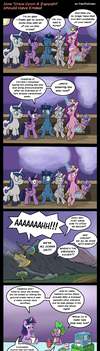 MLP: How 'Once Upon A Zeppelin' Should Have Ended by PacificGreen