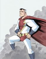 MEGABOLT by JoshCovey colored by mattcrap