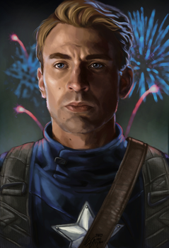 Captain America by XtreamCrazy