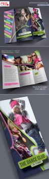 Dance Academy Trifold Brochure Template - 2 by Redshinestudio