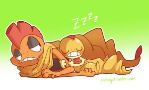 Nap Time by jiggly