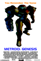 Metroid: Genesis - Concept Movie Poster by PeachLover94