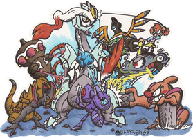 Destroy All Kyurems!