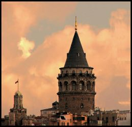 Galata Tower by lucytheocean